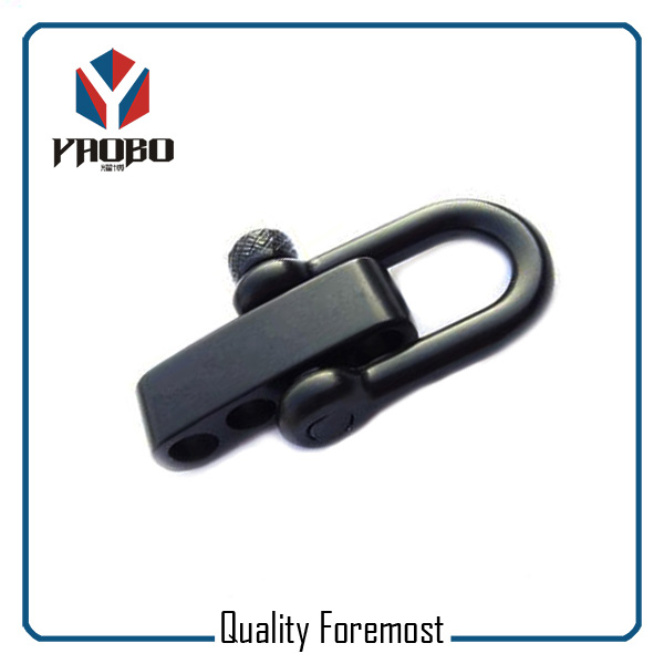 Black Color D Shackle