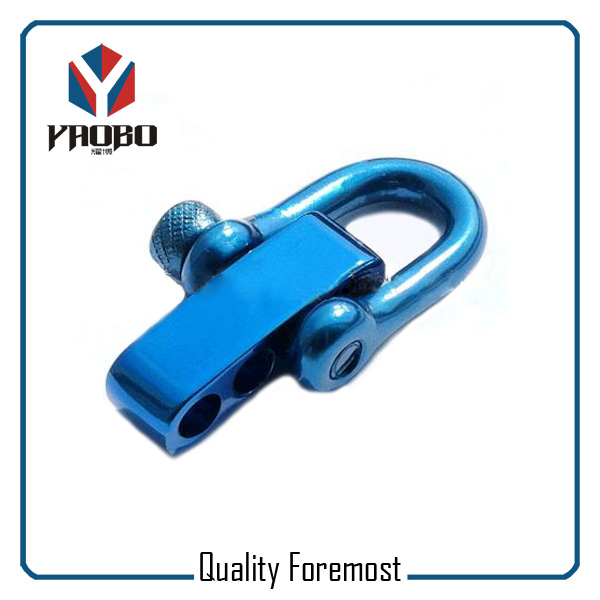 Blue Color Stainless Steel Shackle