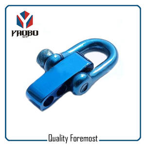 Blue Color Stainless Steel Shackle,blue D shackle