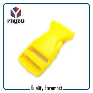 yellow plastic buckles,Colored buckles,25mm buckles