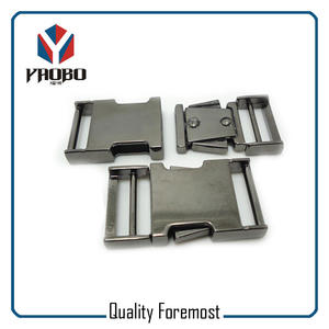 Metal Buckles for lanyard,Gunmetal 25mm Buckles for bag