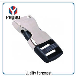 metal zinc alloy buckles,Metal 20mm Buckle with plastic