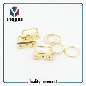 Iron Key FOB Hardware,gold Key FOB Hardware