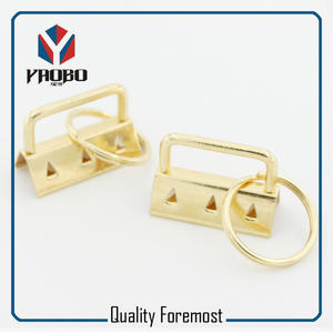 32mm Key FOB Hardware,gold Key FOB Hardware