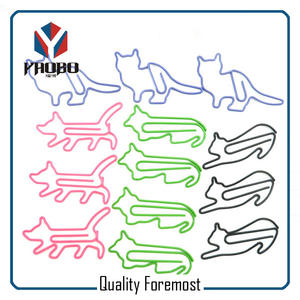 Metal Cat Paper Clips,various shape cats paper clips
