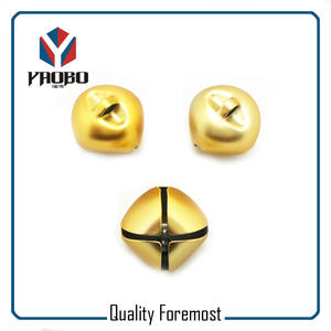 Iron 25mm bells,25mm gold color bell,yellow Bell for christmast