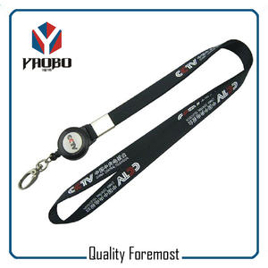 lanyard with silver snap hook supplier,black lanyard with snap hook