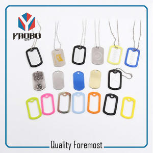 low price polished tags,metal tags for dog,colored dog tags