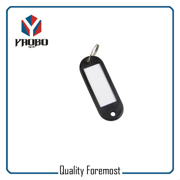 Fashion High Quality Black Plastic Tags