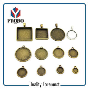 zinc alloy accessories for pandent,antique brass pandent