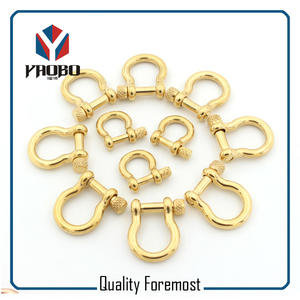 Fashion High Quality Gold Color Shackles