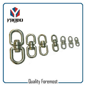 Stainless Steel Heavy Duty Swivel,stainless steel 4mm swevel