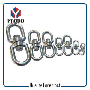Stainless Steel Chain Swivel,4mm swivel,heavy duty swevel