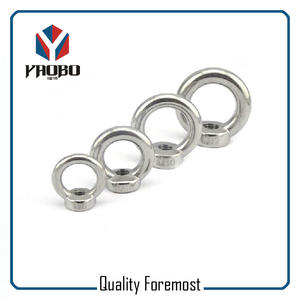 Stainless Steel Nut With Eye,stainless steel heavy duty eye bolt