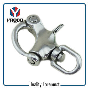 Swivel Snap Shackles With Eye,shackles with swivel snap hook