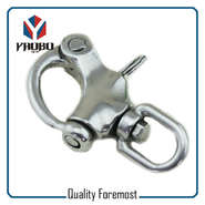 Custom High Quality Swivel Snap Shackles With Eye