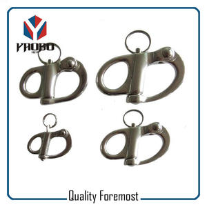 Fixde Snap Shackles,stainless steel fixde snap hooks