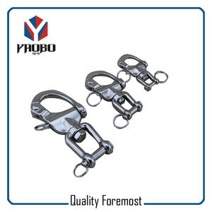 Swivel Snap Shackle With Jaw,stainless steel Swivel Snap Shackle