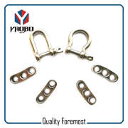 Custom High Quality Stainless Steel Shackle With Adjustable