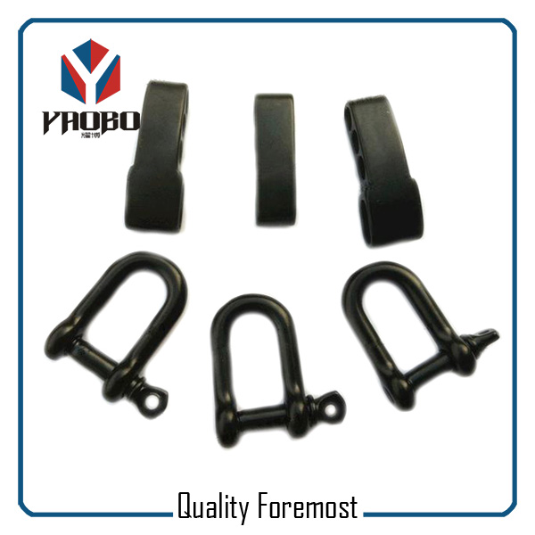 Custom High Quality Black D Shackle With Adjustable