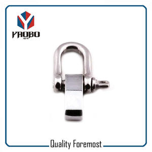 Stainless Steel D Shackle With Adustable,D shackle with bolt