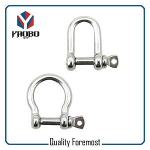 Stainless Steel Shackles With Bolt,D shape shackles