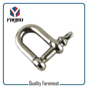 D Shackles With Screw Pin,D Shackle with 4 hole adjuster