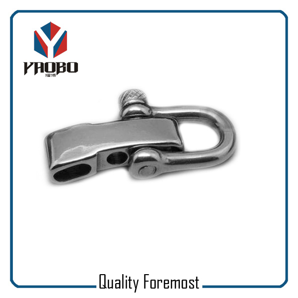High Quality Stainless Steel D Shackles With Adjuster Factory