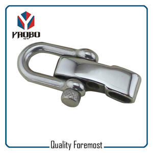 Custom High Quality Stainless Steel Silver Color D Shackles