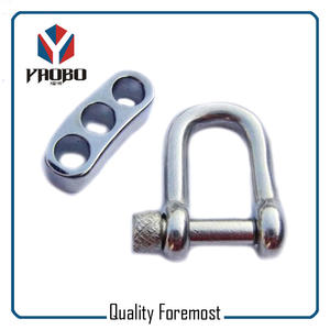 Supplier 5mm D Shackles,wholesale 5mm stainless steel  shackles