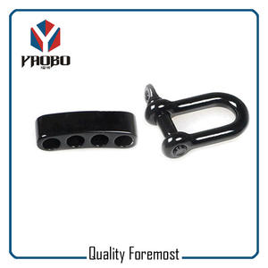 5mm Black Shackles,Black Color Shackles With Adjustable