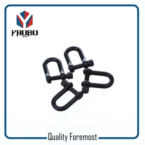 Manufacture High Quality Stainless Steel 4mm Black Shackles