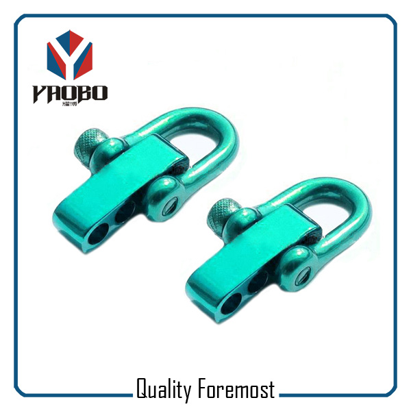 Manufacture High Quality Stainless Steel Green D Shackles
