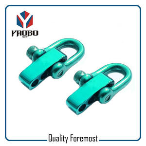 Green D Shackles,Stainless Steel green shackles with adjustable