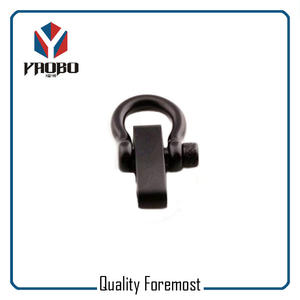 Bow Shackles Manufacture,Black Bow Shackles