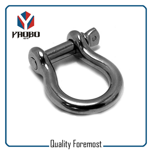 High Quality Stainless Steel Bow Shackles For Bracelet