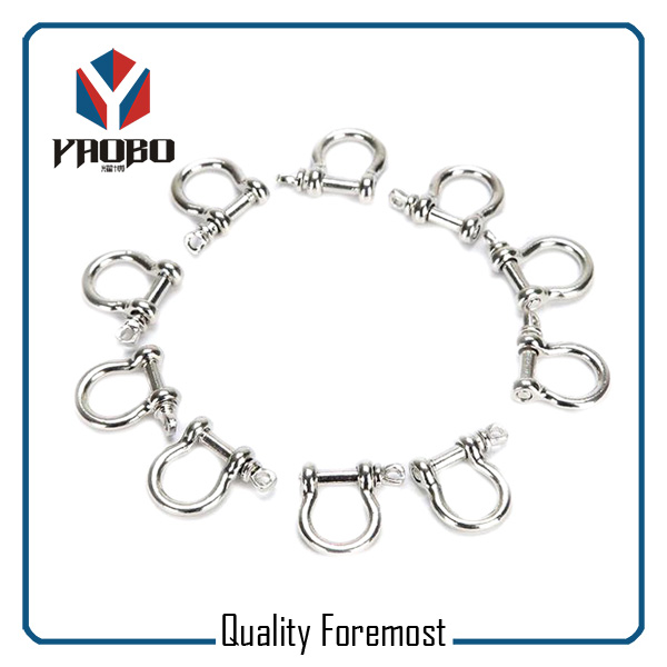 High Quality Stainless Steel Bow Shackles for Jewelry