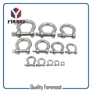 Stainless Steel Shackles For Jewelry,Bow Shackles For Bracelet