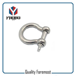 High Quality Stainless Steel Shackles Custom Bow Shackles