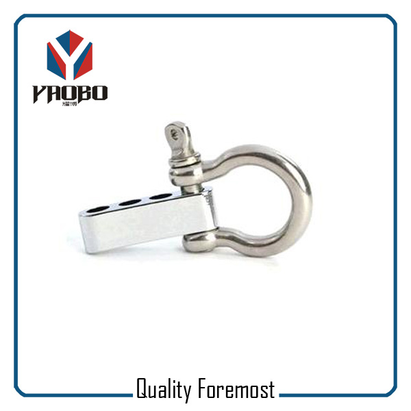 High Quality Stainless Steel Bow Shackles With Adjuster