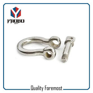 4mm Bow Shackles For Jewelry,Bow Shackles With Adjuster