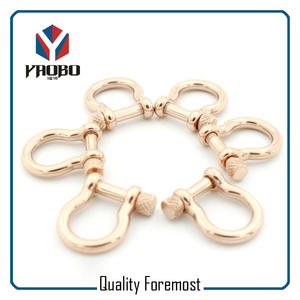 Fashion Bow Shackles,rose gold bow Shackles For Bracelet
