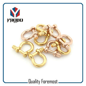Fashion 3mm Shackles Stock,gold bow 3mm Shackles