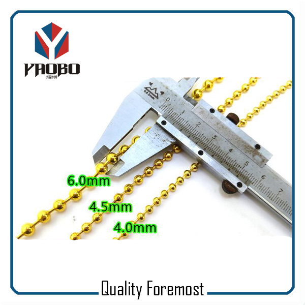 High Quality Ball Chain 4.5mm Size Ball Chain