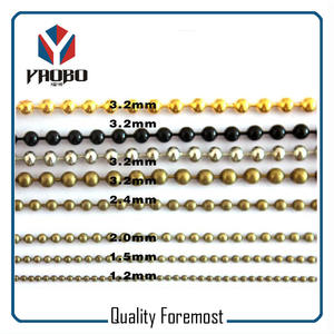 Different Size Ball Chain,1.5mmBall Chainm,2mm ball chain