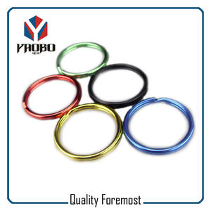 Various Color Key Ring,Colored Split Ring,colored key ring