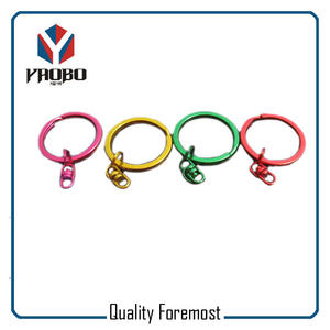 High Quality Split Ring Colored Split Ring With Swivel