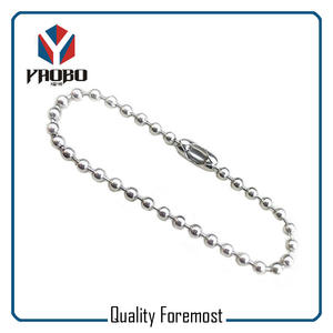 2.4mm Ball Chain Nickle Color,10cm legnth 2.4mm ball chain