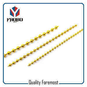 Brass Gold Ball Chain,2.4mm brass ball chain