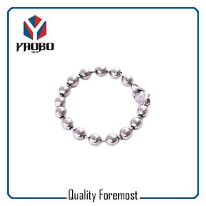 Stainless Steel Ball Chain Bracelet